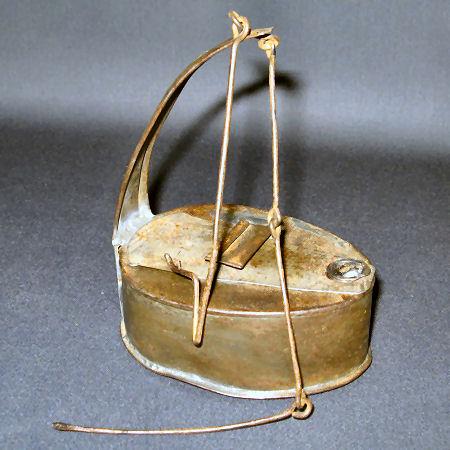 Tin Betty Lamp