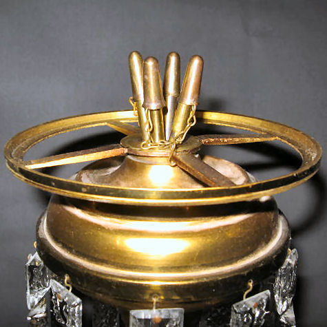 "4-Tube Burner with 5"" Shade Ring"