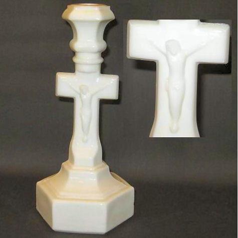 Crucifix candlestick