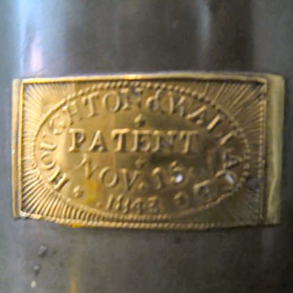 Patent Plate