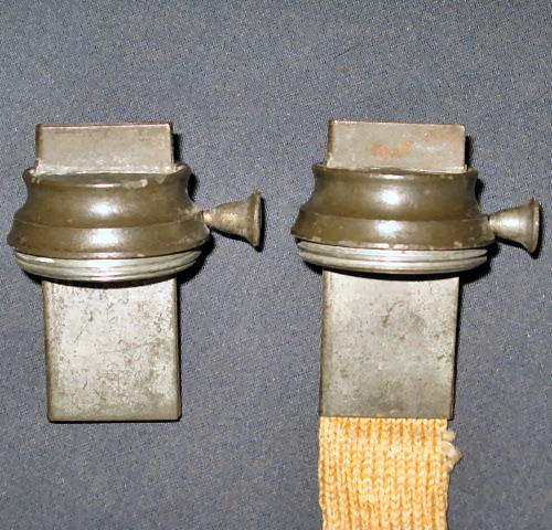 Samuel Rust Burner Matched Pair  (Example 4 side view)