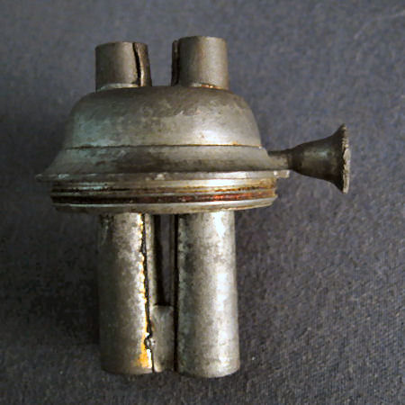 Samuel Rust Burner Tube Style  (Example 6 side view)  US Patent No. 3,467